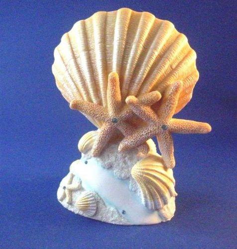 """Beach Seashell Starfish Design Wedding Cake Topper 7"""""""