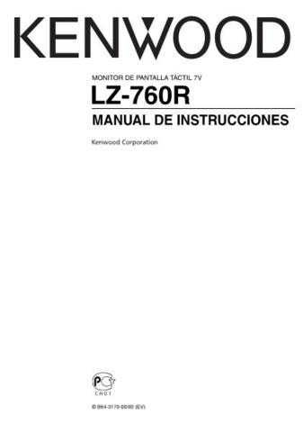 Kenwood LZ-760R by download Mauritron #219669