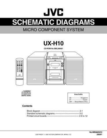 JVC UX-H100 sch Service Manual by download Mauritron #220764