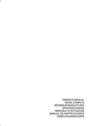Yamaha RX-V3800 U Operating Guide by download Mauritron #249758