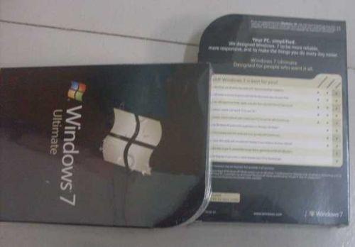 Microsoft Windows 7 Ultimate 32/64 bit Full Version
