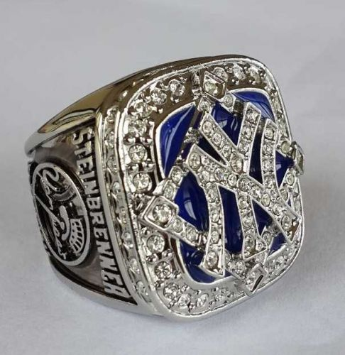 2009 New York Yankees MLB Baseball Championship Ring size 11 US Stein Brenner