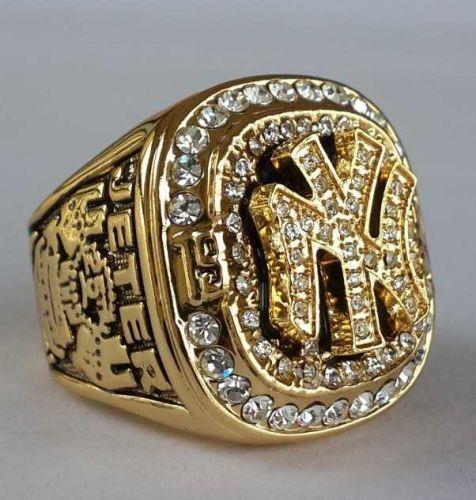 1999 New York Yankees MLB Baseball Championship Ring size 11 US Player JETER