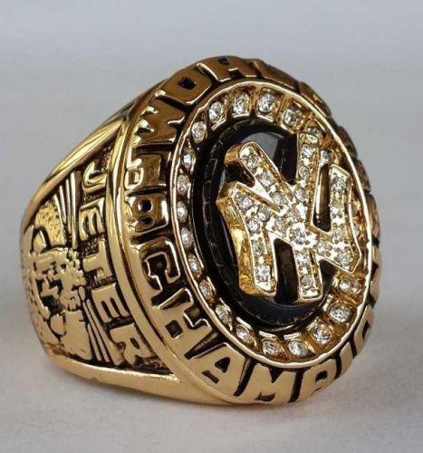 1998 New York Yankees MLB Baseball Championship Ring size 11 US Player JETER