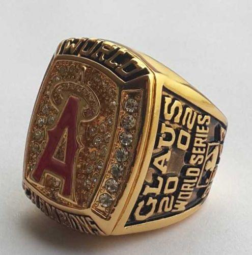 2002 Anaheim Angels MLB Baseball Championship Ring size 11 US Player CLAUS