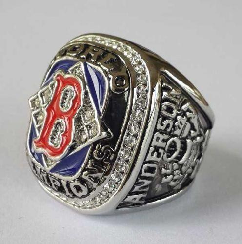 2004 Boston Red Sox MLB Baseball Championship Ring size 11 US Player Anderson