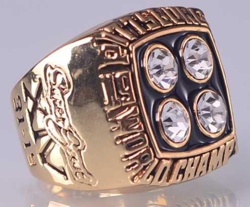 1979 NFL Super Bowl XIV Pittsburgh Steelers Super Bowl Championship Ring Size 11