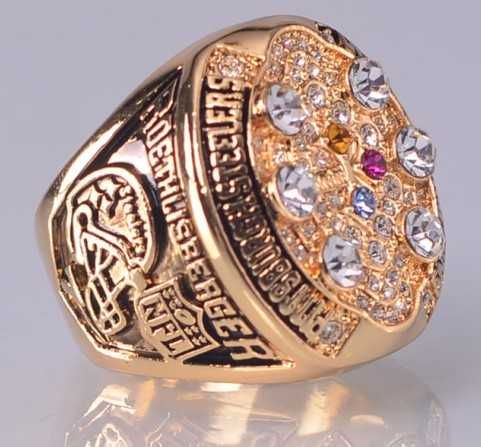 2008 NFL Super Bowl XLIII Pittsburgh Steelers Super Bowl Championship Ring S11