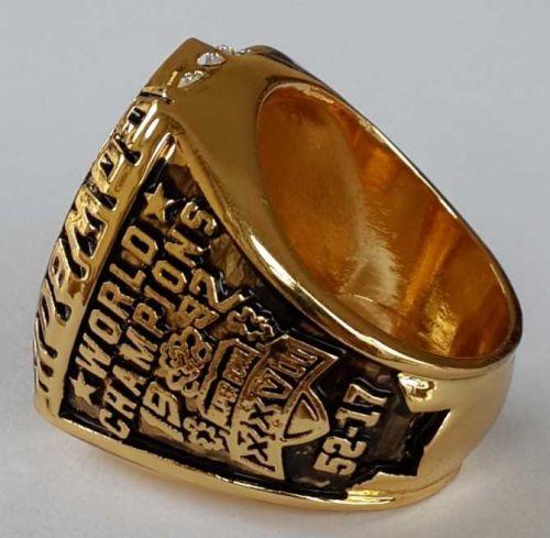 1992 NFL Super Bowl XXVII Dallas Cowboys Super Bowl Championship Ring Size 11 US