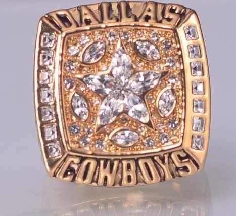 1995 NFL Super Bowl XXX Dallas Cowboys Super Bowl Championship Ring Size 11 US