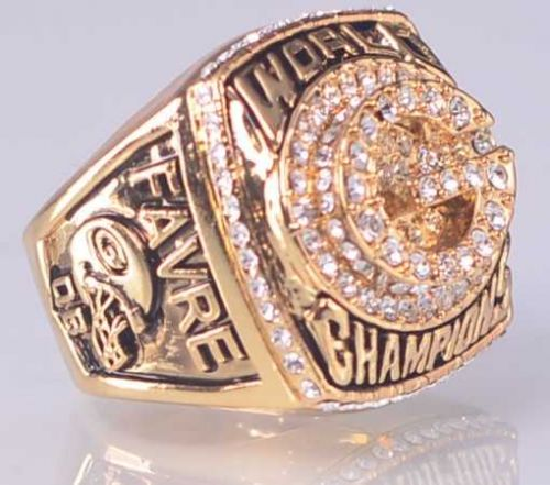1996 NFL Super Bowl XXXI Green Bay Packers Super Bowl Championship Ring size 11