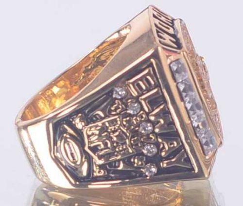 1997 NFL Super Bowl XXXII Denver Broncos Super Bowl Championship Ring size 11 US