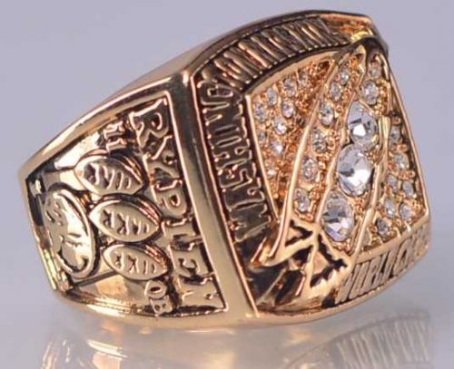1991 NFL Super Bowl XXVI Washington Redskins Super Bowl Championship Ring Size11