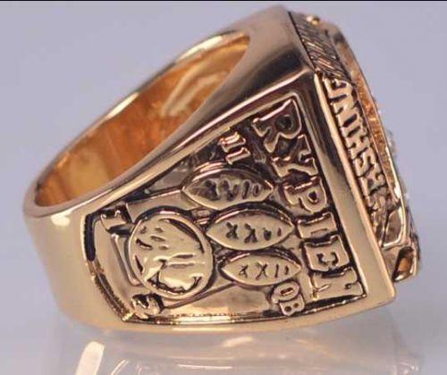 1991 NFL Super Bowl XXVI Washington Redskins Super Bowl Championship Ring Size11