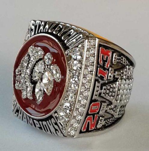 2013 NHL Chicago BlackHawks Hockey Championship ring replica size 11 US