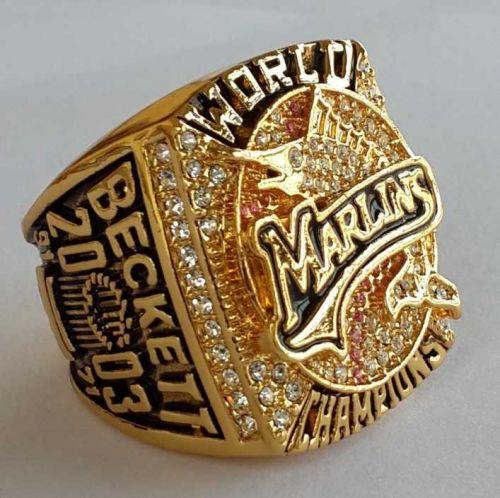 2003 NHL Florida Marlins Hockey Championship ring replica size 11 US