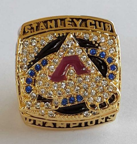 2001 NHL Colorado Avalanche Stanley Cup Championship Ring size 11 US