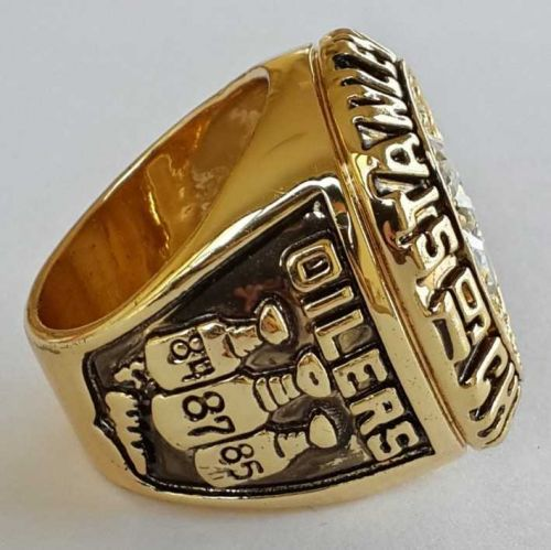1987 NHL Edmonton Oilers Stanley Cup Championship Ring size 11 US