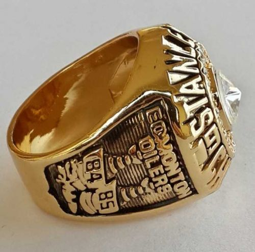 1984 NHL Edmonton Oilers Stanley Cup Championship Ring size 11.5 US