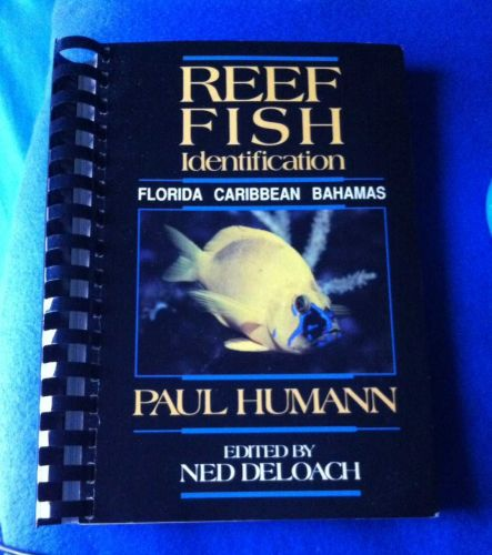 Reef Fish Identification Guide by Paul Humann Used