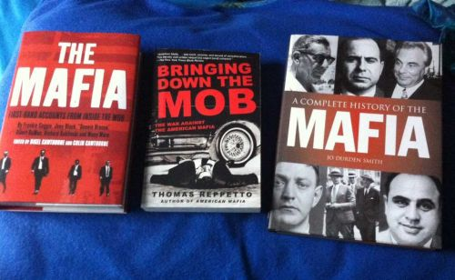 Lot of 3 Mafia Books Biography History NF New Various Authors