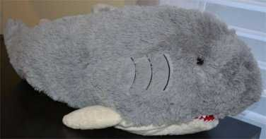 "PillowPet ""Pee-wees"" Shark Mini Plush Used"