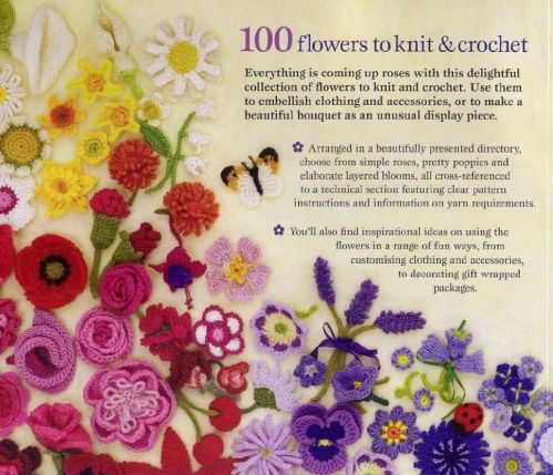 crochet and knt flowers PDF Patterns