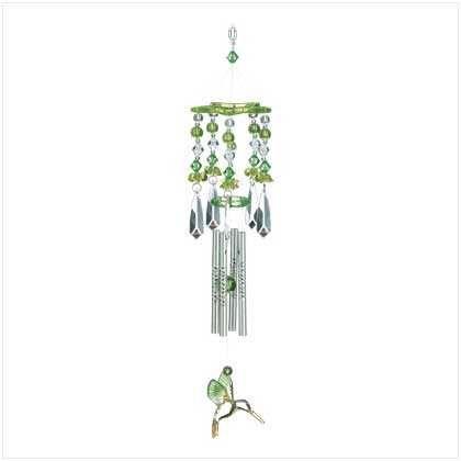 Green Hummingbird Chime