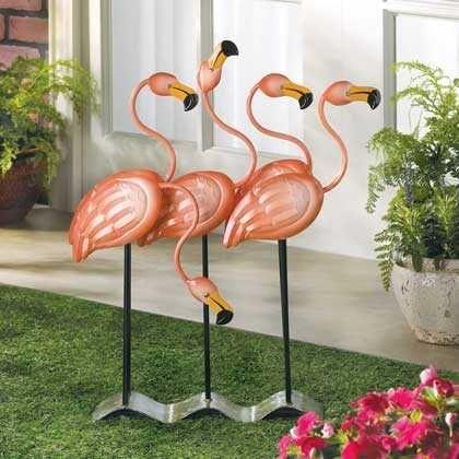 Flock O Flamingos Décor