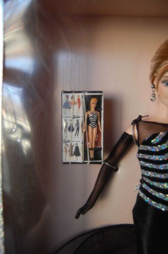 40th Anniversary Barbie w/ small Barbie's Barbie in box..