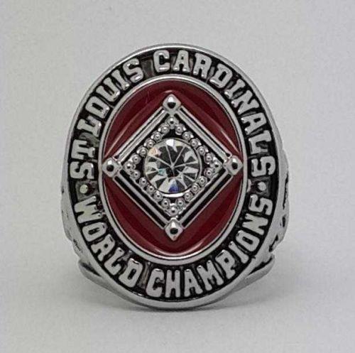 1964 St Louis Cardinals MLB Baseball Championship Ring size 11 US Player GIBSON