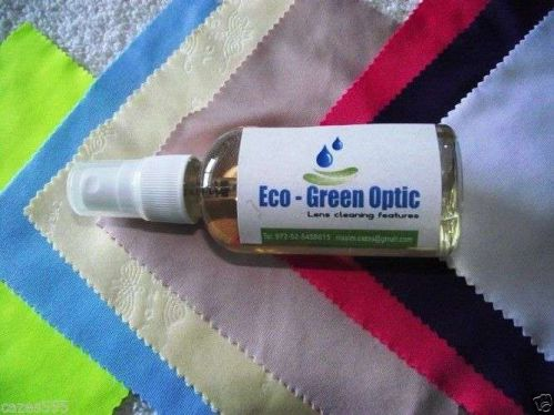 eco-green- optic Clarity Spray Lens Cleaning Kit for Goggles
