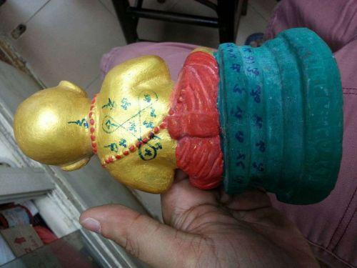 VERY RARE Kuman Thong Lp Yam The one in the world Thai buddha Amulet Talisman