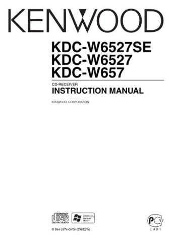 Kenwood KDC-W6527SE by download Mauritron #222262