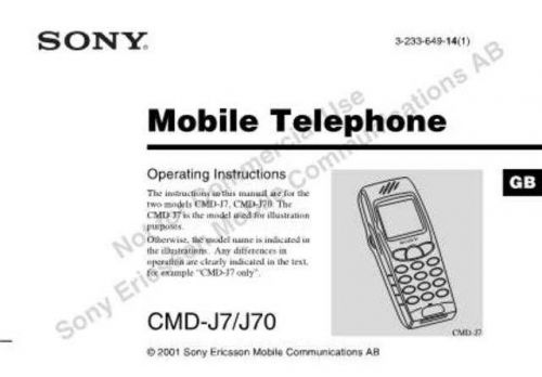 SONY DCR-TRV410 Technical by download #104864
