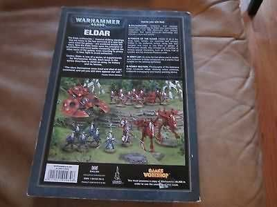 Warhammer 40,000 40K ELDAR CODEX by Phil Kelly Good Condition book