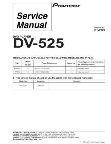 Pioneer R2229 Manual by download Mauritron #227923