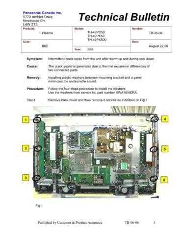 Panasonic tb-06-06 Service Manual by download Mauritron #268981