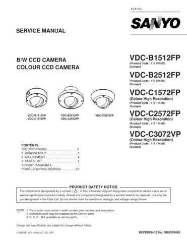Fisher. VDC-C2572FP Service Manual by download Mauritron #218809