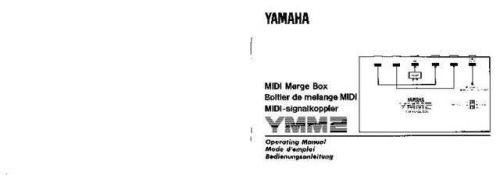 Yamaha Yamaha YMM2E Service Manual by download Mauritron #259988