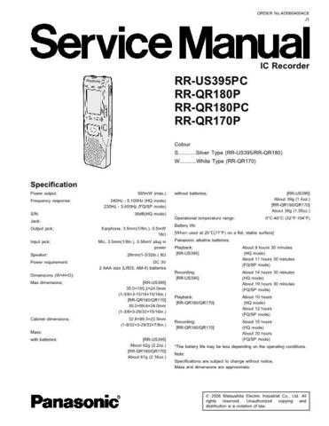 Panasonic rx_ds7_p Service Manual by download Mauritron #268540