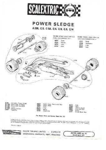 Scalextrix No.00S09 Ferrari GP Service Sheets by download Mauritron #206298