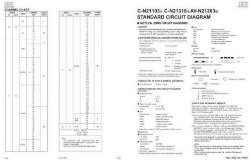 JVC AV32T55EKS -.AV32R250EKS Service Manual Schematic Circuit. by download Mauritron