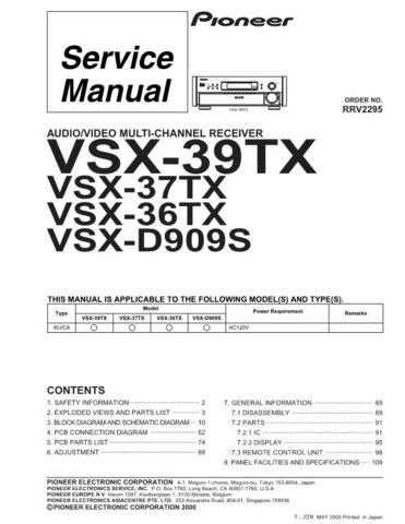 Sharp R2295 Service Manual by download Mauritron #209248