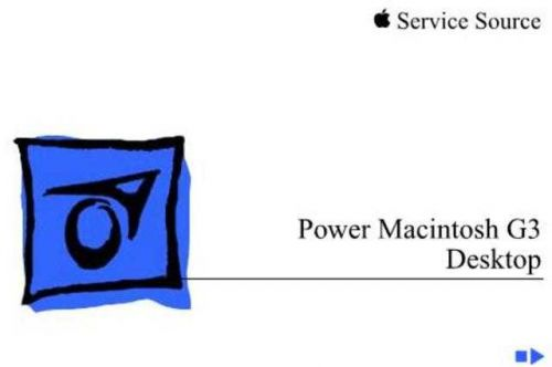 APPLE POWERMAC_G3_DESKTOP by download #100546