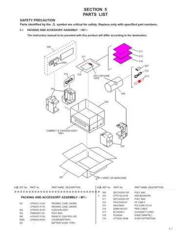 JVC PRT82722 Service Manual. On by download Mauritron #272132