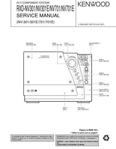 KENWOOD RXDM31 RXDLSM31 Technical Information by download #118822
