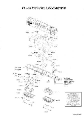 Bachmann Class 25 Information by download Mauritron #206096