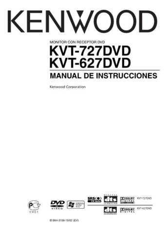 Kenwood KVT-627DVD by download Mauritron #222879