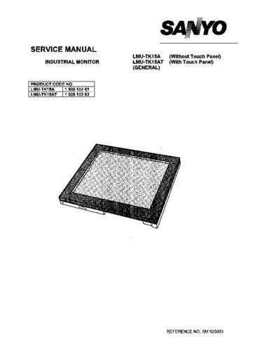 Fisher. Service Manual For LMU-TK15AT by download Mauritron #217337